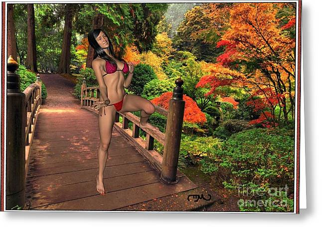 The Colors Of Autumn 3 Greeting Card by Pemaro