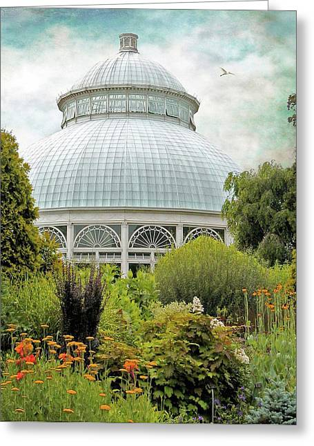 The Conservatory Greeting Card