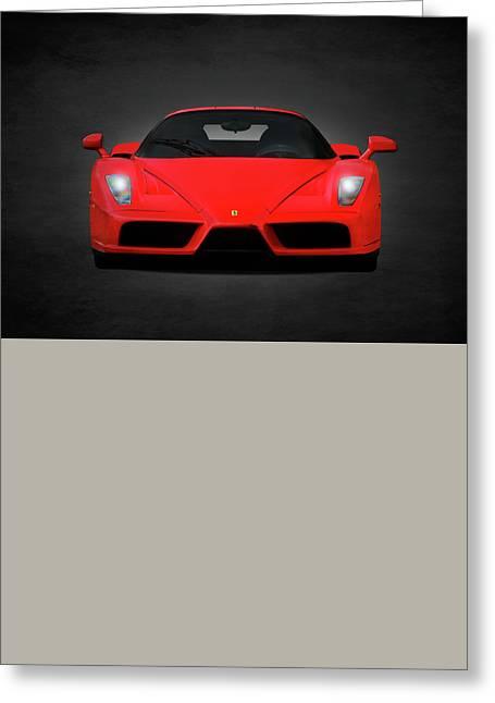The Ferrari Enzo Greeting Card