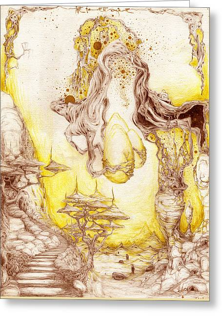 The Forest Doctrine Greeting Card by Outrega Anderson