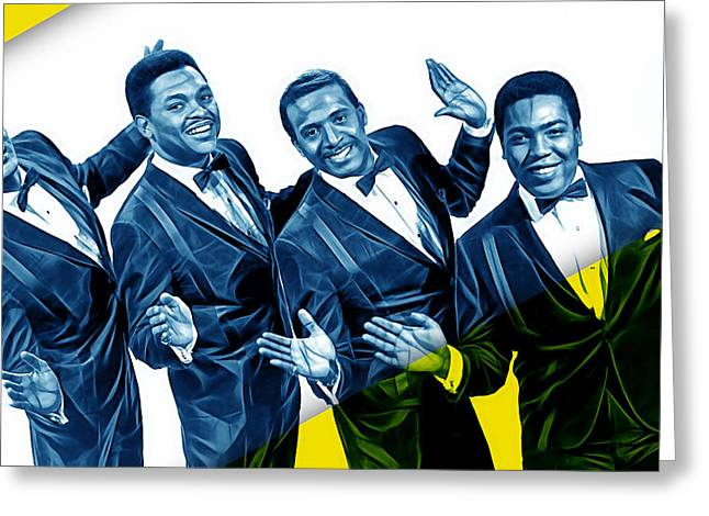 The Four Tops Collection Greeting Card