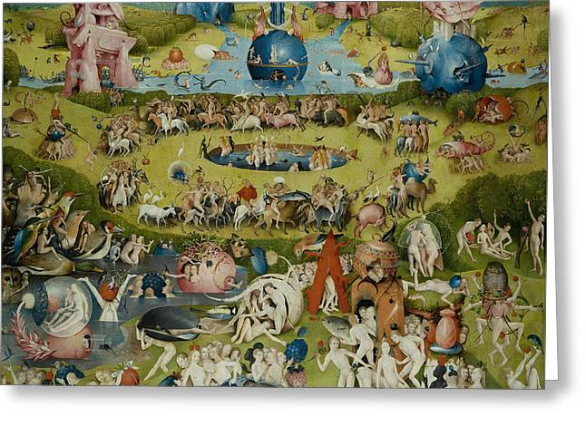 The Garden Of Earthly Delights Greeting Card