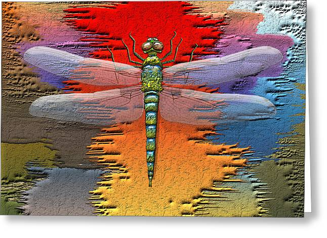 The Legend Of Emperor Dragonfly Greeting Card