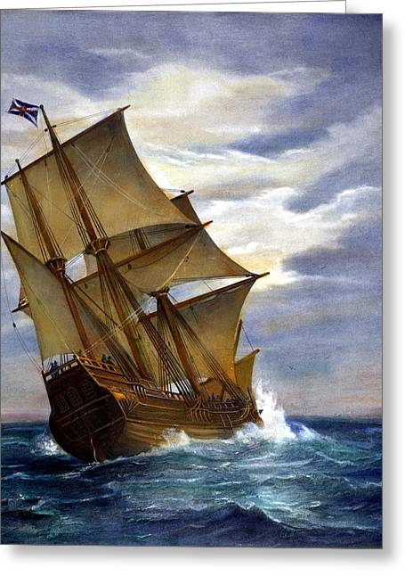 The Mayflower Greeting Card by Granger