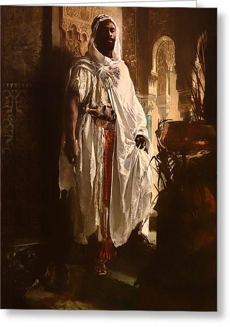 The Moorish Chief Greeting Card
