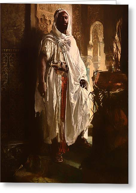 The Moorish Chief Greeting Card