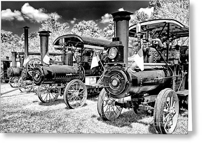 Greeting Card featuring the photograph The Old Way Of Farming by Paul W Faust - Impressions of Light