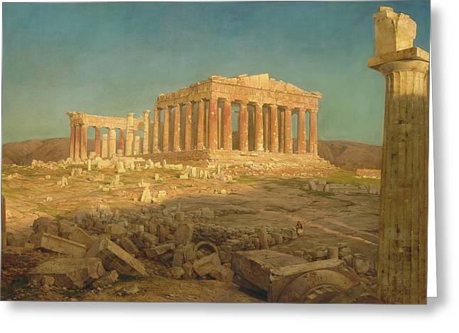 The Parthenon Greeting Card