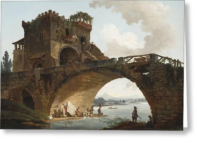 The Ponte Salario Greeting Card