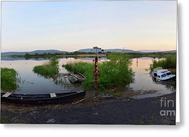 The River Suir Greeting Card by Joe Cashin
