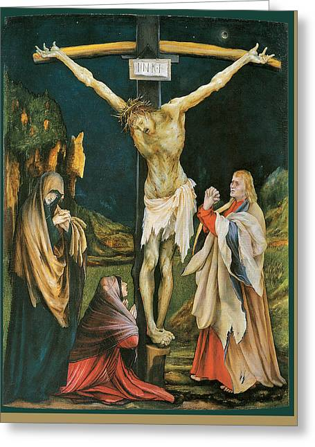 The Small Crucifixion Greeting Card