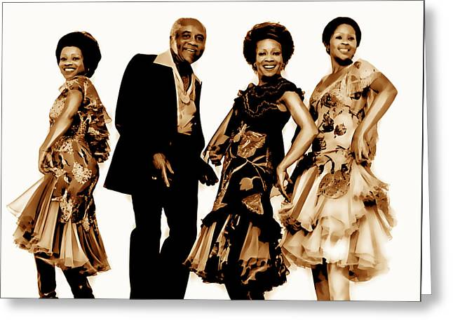 The Staple Singers Collection Greeting Card by Marvin Blaine
