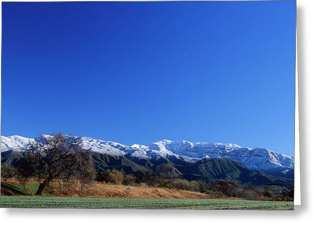 The Upper Ojai Valley Greeting Card by Soli Deo Gloria Wilderness And Wildlife Photography