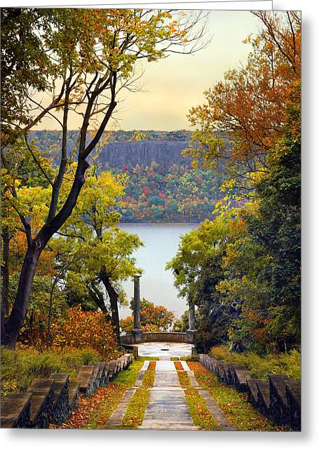The Vista Steps Greeting Card