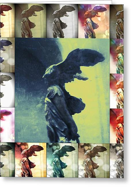 The Winged Victory - Paris - Louvre Greeting Card by Marianna Mills