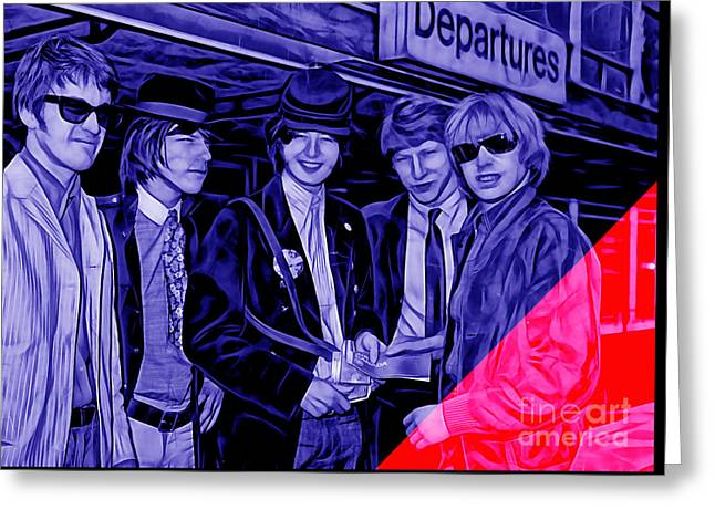 The Yardbirds Collection Greeting Card