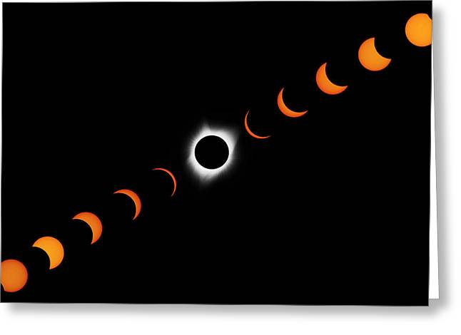 Total Eclipse 2017 Greeting Card