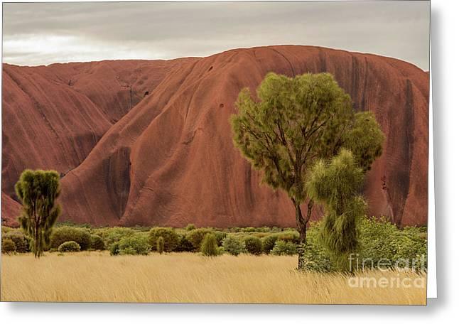 Uluru 08 Greeting Card