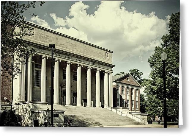 University Of Alabama Library Greeting Card