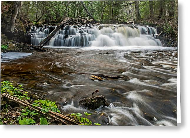 Upper Mosquito Falls Greeting Card