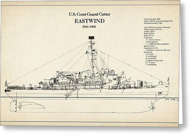 U.s. Coast Guard Cutter Eastwind Greeting Card
