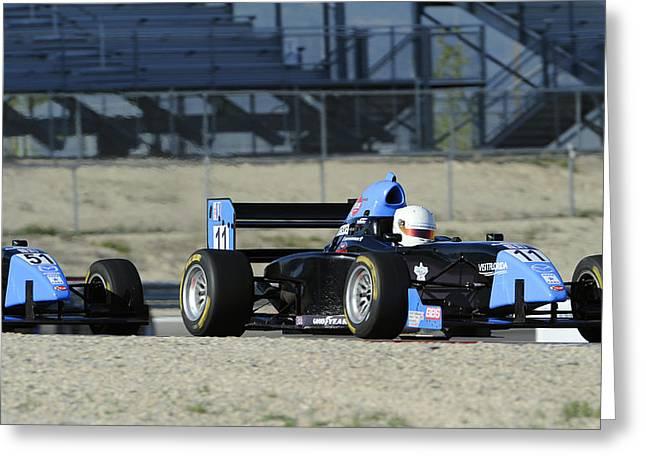 Utah Grand Prix Greeting Card by Dennis Hammer
