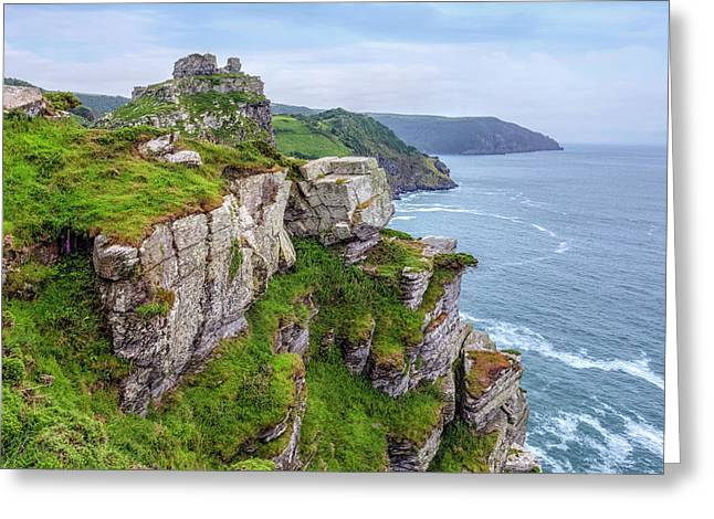 Valley Of Rocks - England Greeting Card