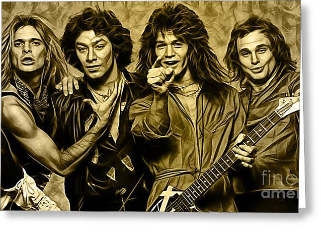Van Halen Collection Greeting Card