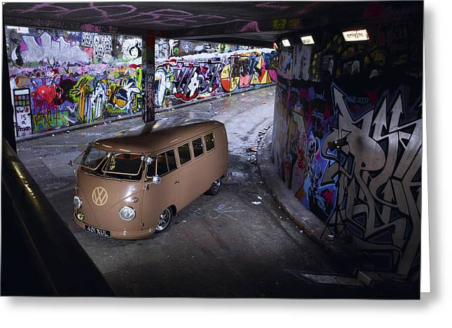 Volkswagen Microbus Greeting Card