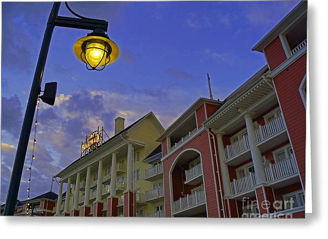Walt Disney World - Boardwalk Villas  Greeting Card