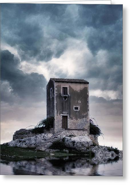 Watchtower Greeting Card by Joana Kruse