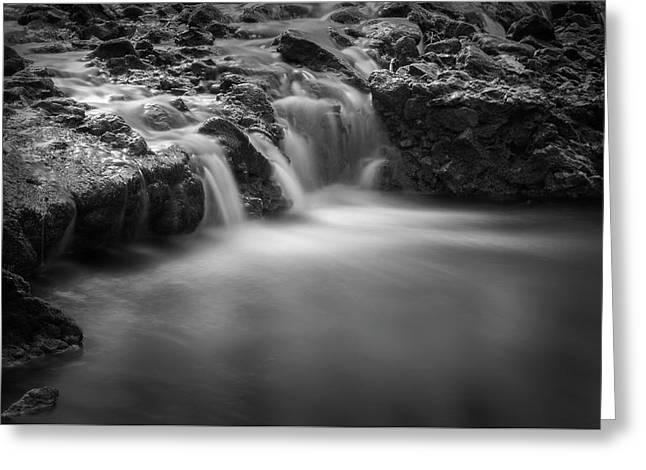 Waterfall  Greeting Card by Scott Meyer
