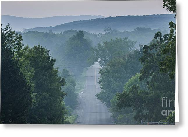 Welch Road In Glen Arbor Greeting Card
