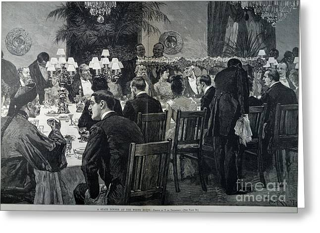 White House: State Dinner Greeting Card by Granger