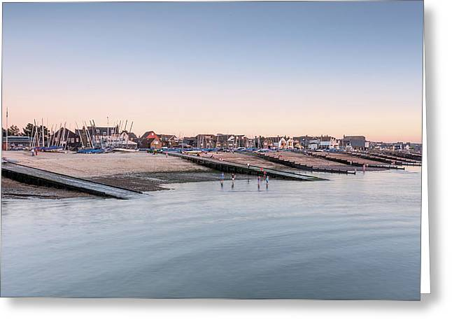Whitstable Bay  Greeting Card by Ian Hufton