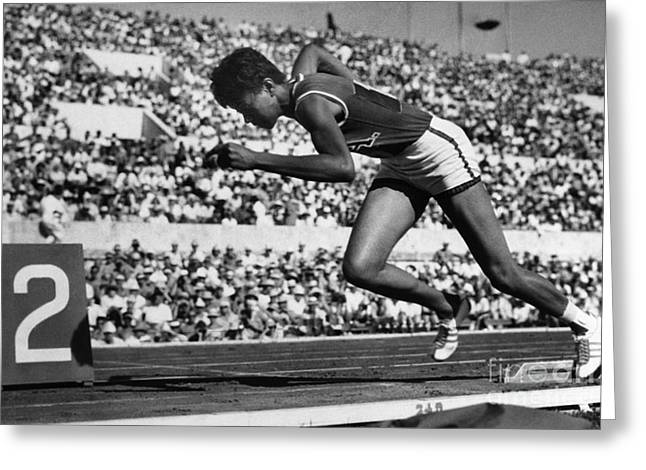 Wilma Rudolph (1940-1994) Greeting Card