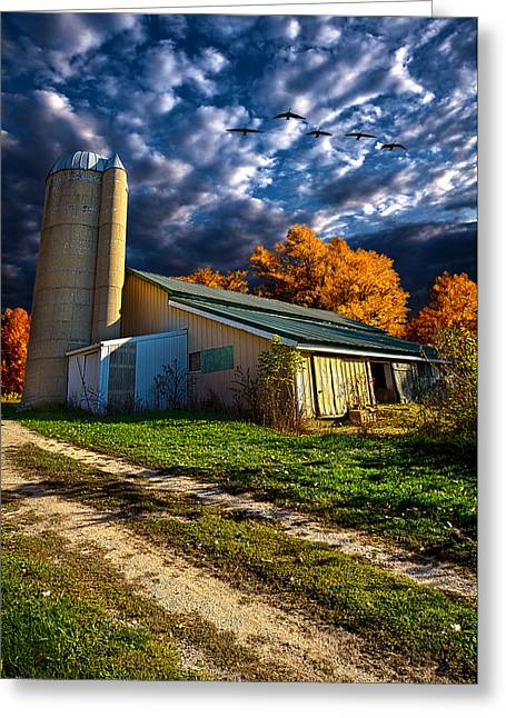 Silo Greeting Cards - Wisconsin Life Greeting Card by Phil Koch