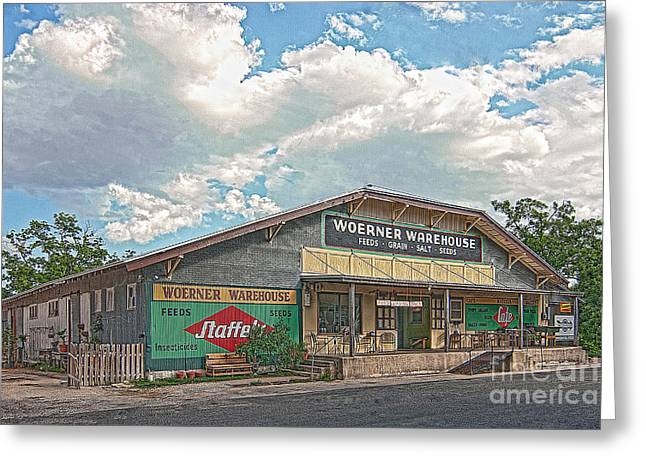 Woerner Warehouse Greeting Card