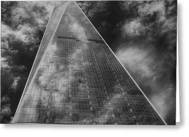 World Trade Center 2015 Greeting Card by Robert Ullmann