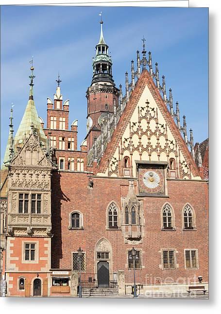 Wroclaw, Poland Greeting Card