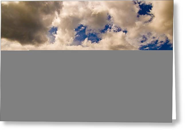 Wyoming Sky Greeting Card by Patrick  Flynn