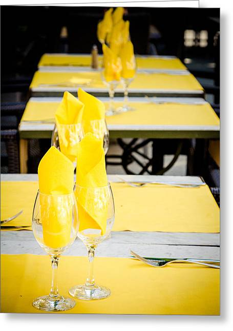 Greeting Card featuring the photograph Yellow by Jason Smith