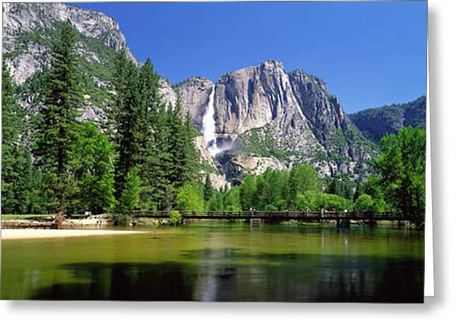 Yosemite Falls, Yosemite National Park Greeting Card by Panoramic Images