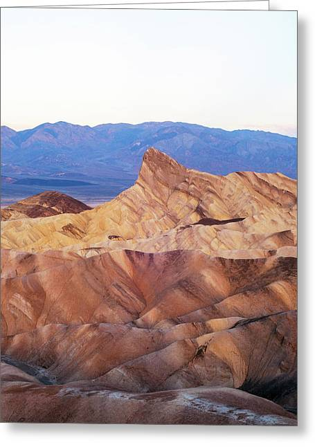 Zabriskie Point Greeting Card by Catherine Lau