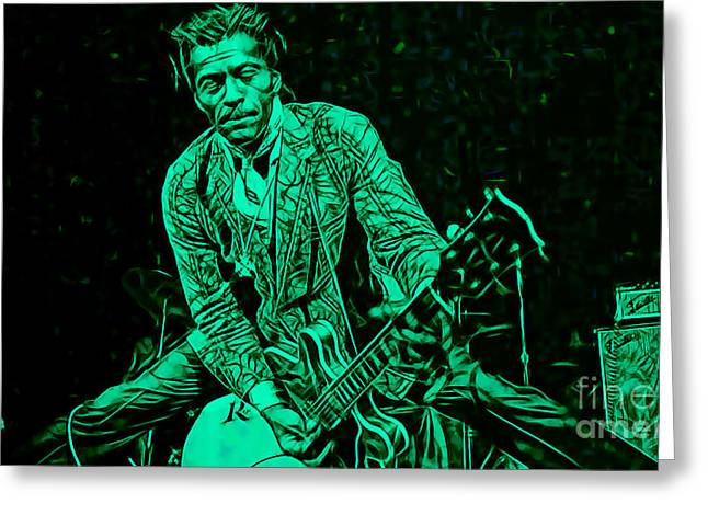 Chuck Berry Collection Greeting Card