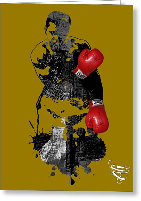 Muhammad Ali Collection Greeting Card by Marvin Blaine