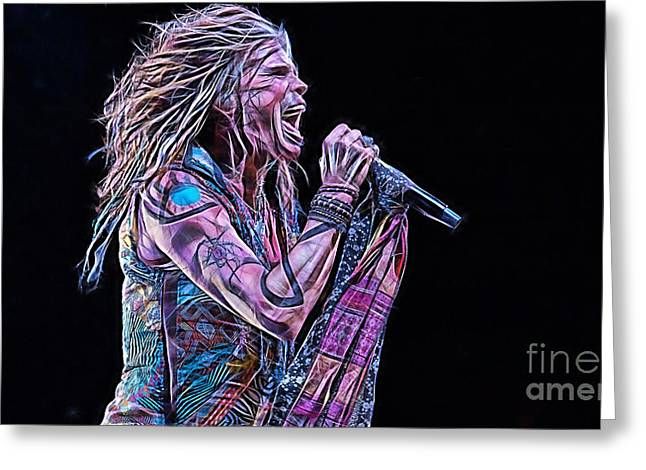 Steven Tyler Collection Greeting Card