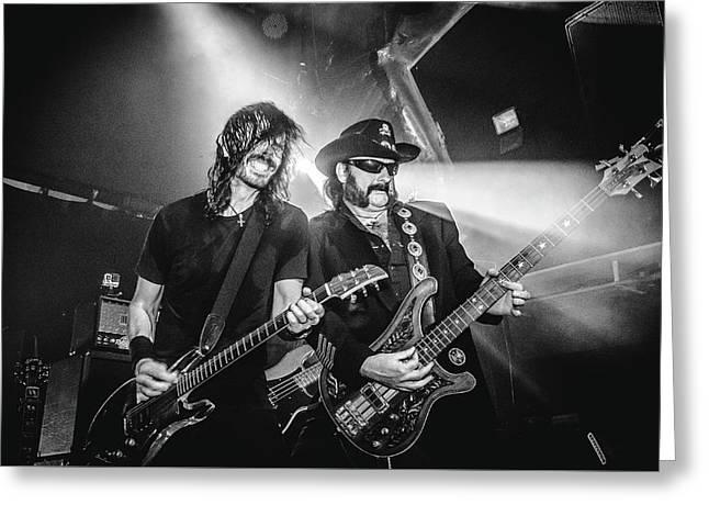 Uk Foo Fighters Live @ O2 Academy Islington Greeting Card