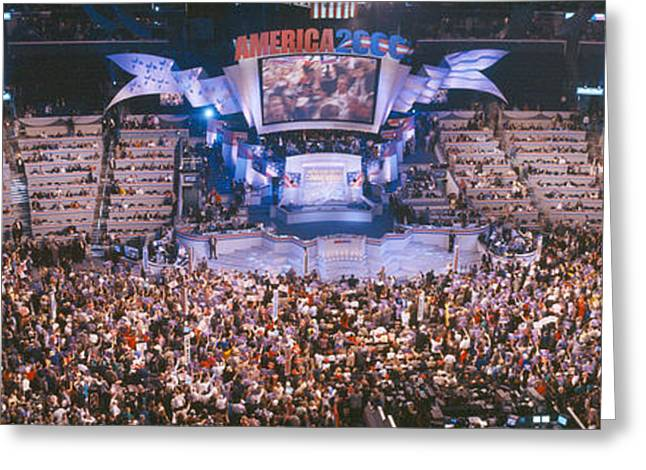 2000 Democratic National Convention Greeting Card