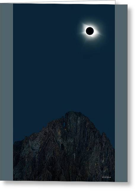 2017 Eclipse Greeting Card